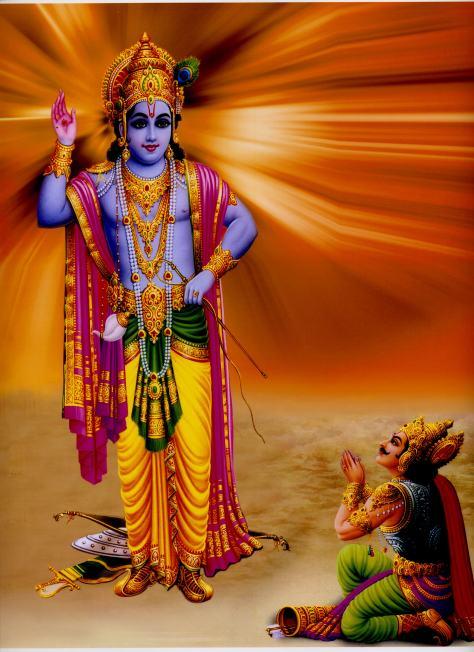 bhagavad gita on krishnas teachings