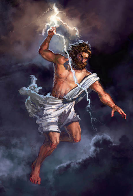 Image result for zeus mitologi yunani